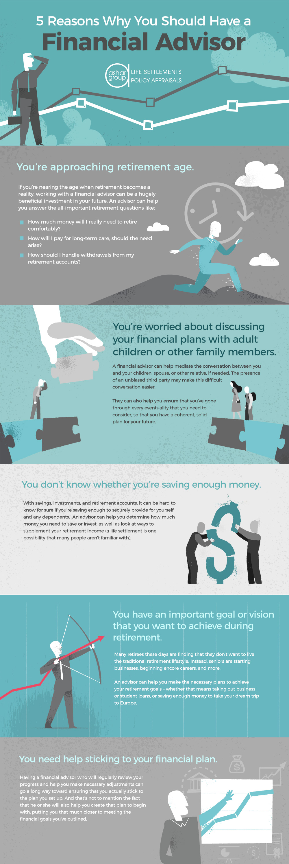 5 Reasons Why You Should Have A Financial Advisor