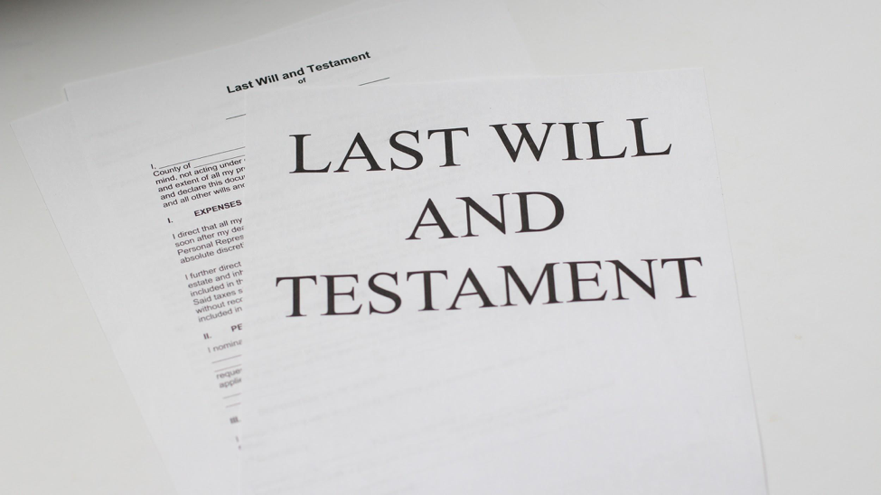 What to include in your will: a checklist